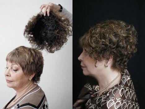 Накладки из натуральных волос - фото